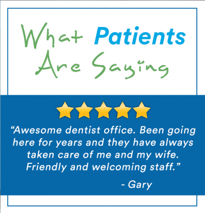 what patients are saying_gary